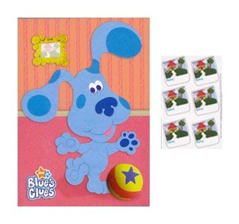 1ct Blues Clues Party Game Poster