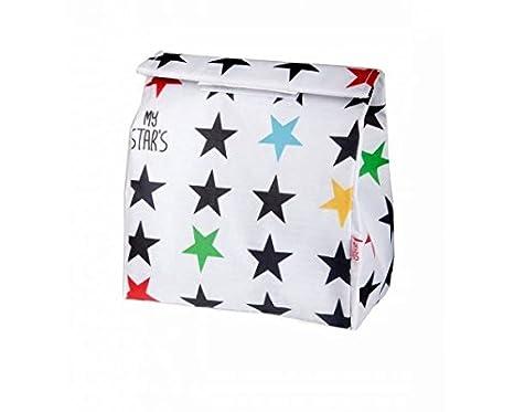 My Bags-Bolsa Merienda Estrellas blancas-Danielstore: Amazon ...