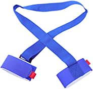 BESPORTBLE Ski Strap Hook and Loop Belt Band Board Strap for Skiing Outdoor for Snow Ski Snowboard Pole (Blue