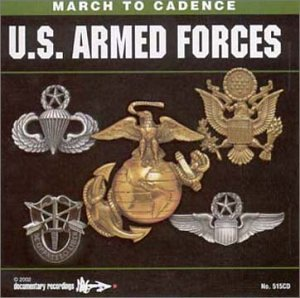 March to Cadence with the U.S. Armed Forces - Armed Forces Cd