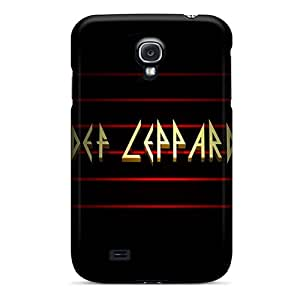 Great Hard Phone Cover For Samsung Galaxy S4 (VIT1436IpjY) Provide Private Custom Vivid Def Leppard Image
