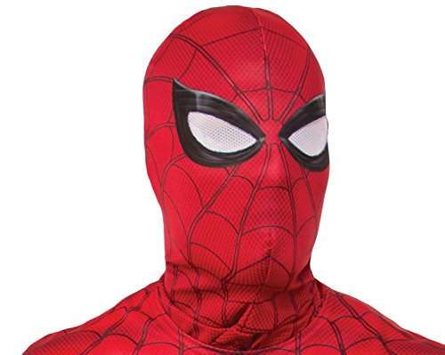 Rubie's Costume Co Men's Spider-Man Adult Costume Accessories, As Shown, Hood -