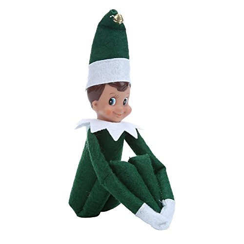 Miraise Christmas Elf on The Shelf Plush Dolls Toy Boy and Girl Decorations (Christmas Elf Toy)
