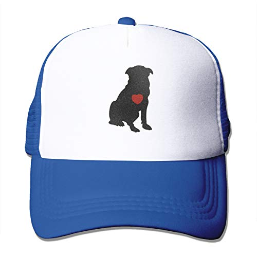 Dog Heart Adult's Baseball Cap Mesh Adjustable Trucker Hat for Men Women