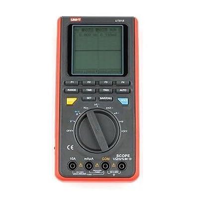 UT81B Digital Multimeter - UNI-T UT81B Handheld LCD Digital Scopemeter Oscilloscope Multimeter, red+black