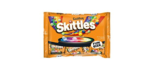 Skittles Cauldron Halloween Fun Size Bag - 10.72oz - 2 BAGS