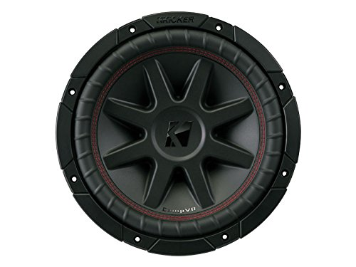Kicker 700 Watt 10 Inch CompVR 2 Ohm Subwoofer Car Bass Power Sub | 43CVR102