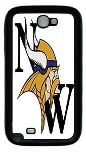 Minnesota Vikings Back Protection Case for Samsung Galaxy Note II N7100 - Minnesota Vikings case for Samsung Galaxy Note II N7100