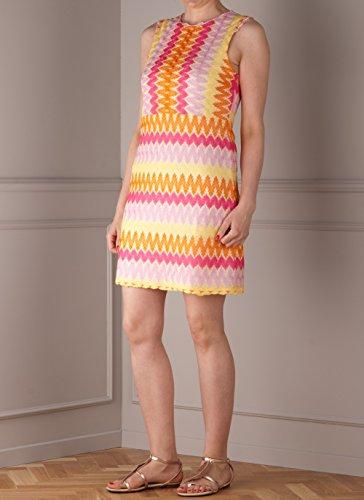 Kleid Gelb | Pink | Orange Multicolor bEHgA