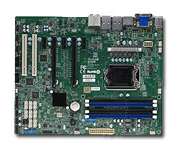 Supermicro Motherboard Ethernet (Supermicro ATX DDR3 1600 LGA 1150 Motherboards X10SAE-O)