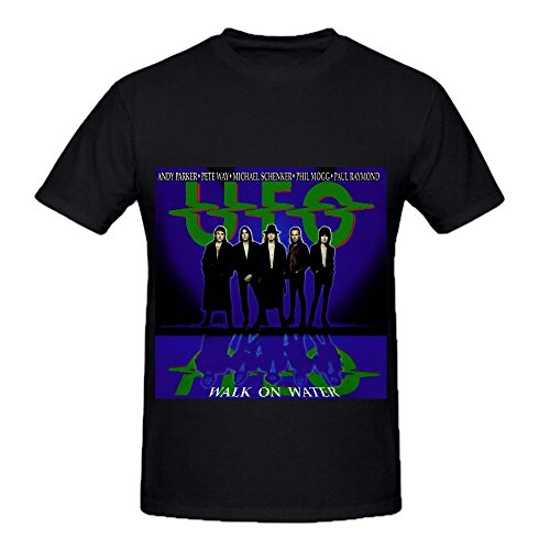Ufo Walk On Water Tour Electronica Men O Neck Customized Shirts Black ()