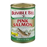BUMBLE BEE Pink Salmon Diversion Can Safe