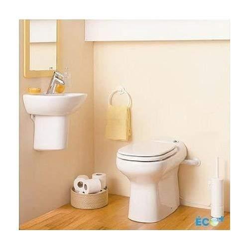 Saniflo 023 Sanicompact Self-Contained Toilet, White