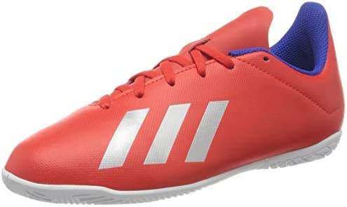 Cuyo lago evaporación  Adidas X 18.4 IN J, Boy's Shoes, Multicolour (Active Red/Silver Met./Bold  Blue ), 2.5 UK (35 EU): Buy Online at Best Price in UAE - Amazon.ae