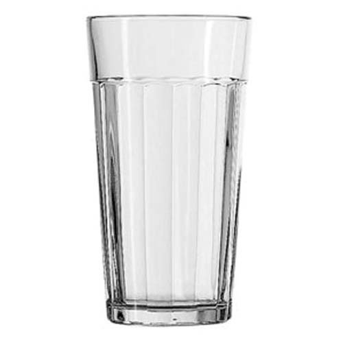 Anchor Hocking 77636 Anchor Hocking 16 oz. Ribware Iced Tea Glass by Anchor Hocking