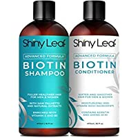 Biotin Shampoo and Conditioner For Hair Growth With DHT Blockers, Hair Loss Treatment For Men and Women, For Thicker and…