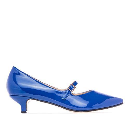 Grandes Machado 45 Jane de Tallas 42 Mujer en la Andres Azul Salones Mary Charol AM5102 8BTqgSd