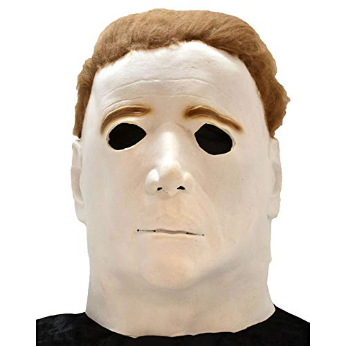 Paper Magic Men's Don Post Studios Michael Meyers The Mask, White, One Size ()
