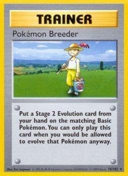 Pokemon - Breeder (76/102) - Base Set