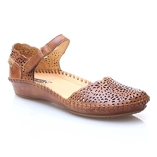 Marrón Strap 655 Vallarta Ankle Women's Sandals P Pikolinos wfRx411