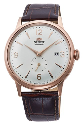 Orient Bambino Mechanical Classic Vintage Small Sub Seconds Rose Gold AP0001S