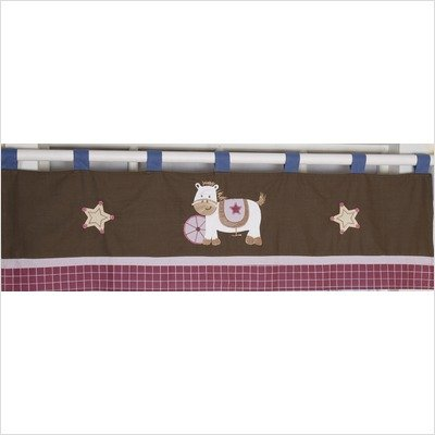 GEENNY Window Valance, Boutique Western Cowgirl