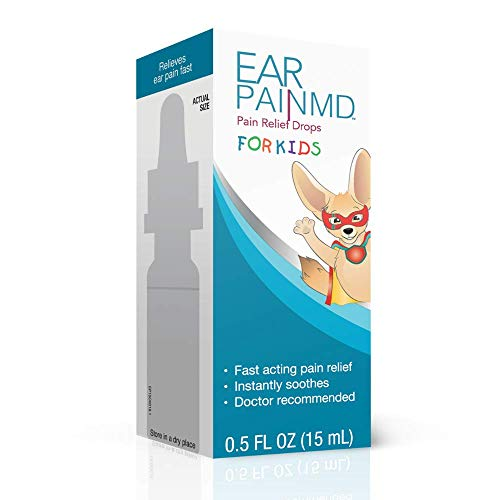 Ear Pain MD for Kids, Ear Pain Relief Drops