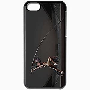 Personalized iPhone 5C Cell phone Case/Cover Skin 41042 Black