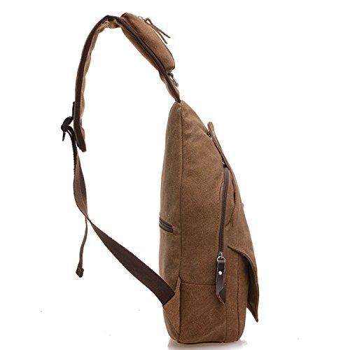 Messenger Black Men's Travel purpose Business Backpack Shoulder Laidaye Bag Multi Leisure wEdHwvq