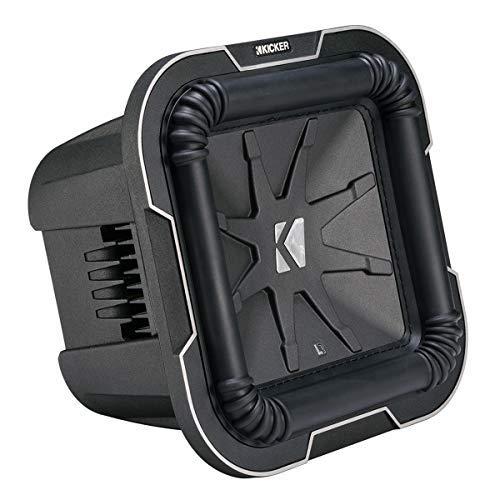 Kicker Square - Kicker L78 Q-Class 8-Inch (20cm) Square Subwoofer, Dual Voice Coil 4-Ohm