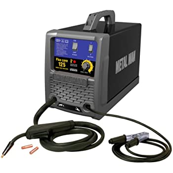 Metal Man FC125 125-Amp/115-Volt Flux Core Wire Feed Welder