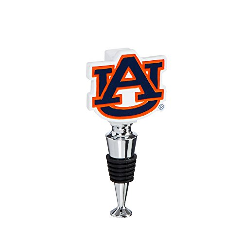 Team Sports America Auburn University Hand-Painted Team Logo Bottle Stopper ()