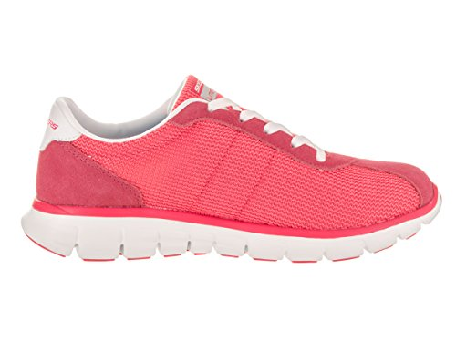 Skechers Womens Synergy - Case Closed Casual Shoe Pink