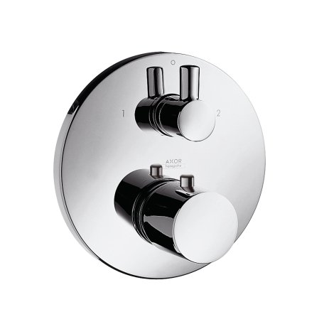 Hansgrohe thermostatic mixer AXOR UNO DN 15 / DN 20 with shut off-/changeover-valve chrome (Hansgrohe Thermostatic Mixer)