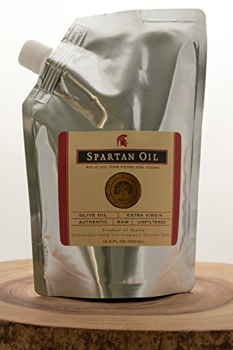 (Spartan Oil Refill Pack - Premium Extra Virgin Olive Oil)