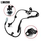 LIMICAR Front Right 1PC ABS Wheel Speed Sensor 89542-0C010 ALS667 5S6773 SU8273 Compatible w/ 2001-2007 Toyota Sequoia 2000-2006 Toyota Tundra