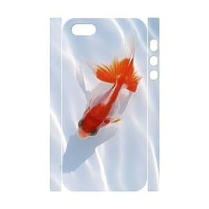 ALICASE Diy Customized Case Goldfish 3D Case for iPhone 5,5S [Pattern-1]