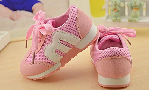 Laufschuhe Mädchen, Hunpta Sport Outdoor Laufschuhe Kinder Jungen Mädchen Schuhe Rosa