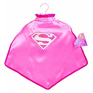 My Super Best Friends Supergirl Cape With Puff Hanger