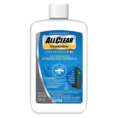 3 each: Allclear Mosquito Mister Concentrate Plus (ACC4012)
