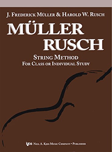 Muller Rusch String Method Book (52CO - Muller Rusch String Method - Cello - Book)