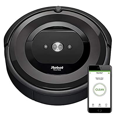 iRobot Roomba E5 (5150) Robot Vacuum - Wi-Fi Connected, Works with Alexa, Ideal for Pet Hair, Carpets, Hard, Self-Charging