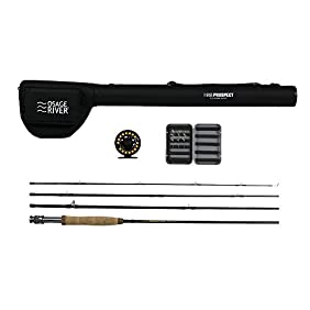 Osage River Prospect Complete Fly Fishing Package - 5/6, 9'0