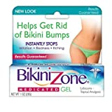 Bikini Zone Medicated Gel 1oz Get Rid Of Bikini Bumps (2 Pack)