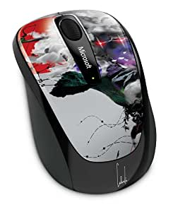 Microsoft Limited Edition Artist Series 3500 Wireless Mobile Mouse, Ho (GMF-00253)