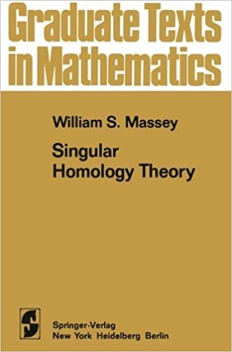 Book Singular Homology Theory (Graduate Texts in Mathematics) (Volume 70) by W.S. Massey (2012-08-01)