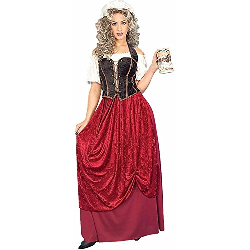 Women's Tavern Wench Costume (Size: Standard 12-14)]()