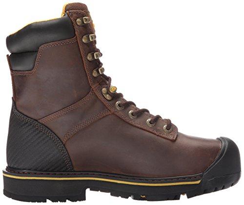 Angelägen Användbarhet Mens Wenatchee 8 Stål Tå Arbete Boot Brun