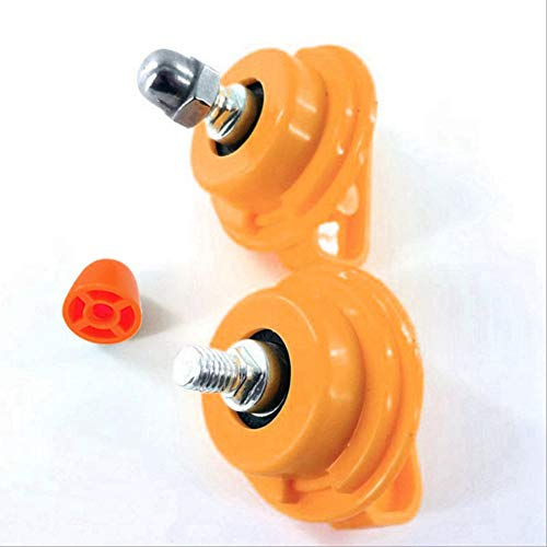 o9qie Stainless Steel Bearing Shaft Nut for All Square Hole Running Wheel Hamster Toy