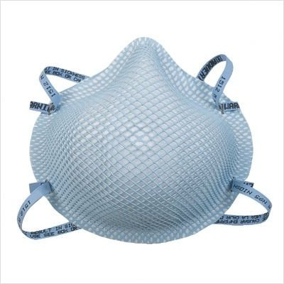 1500 Series N95 Respirator and Surgical Mask Size Group: Extra Small, Price for 1 BX, 20EA/BX (part# 1510) by Moldex